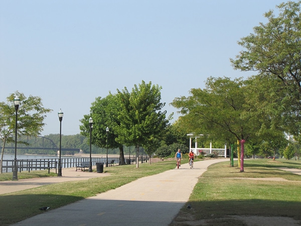 bike trails davenport