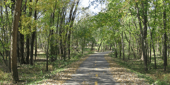 best bike paths in davenport